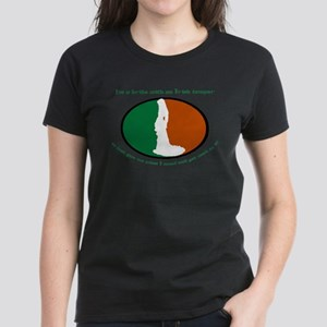 Irish Bride; Irish Temper Women's Dark T-Shirt